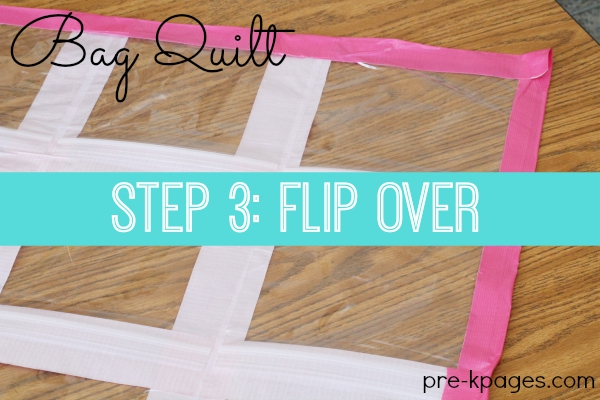 Bag Quilt for Learning and Fun Games in Preschool