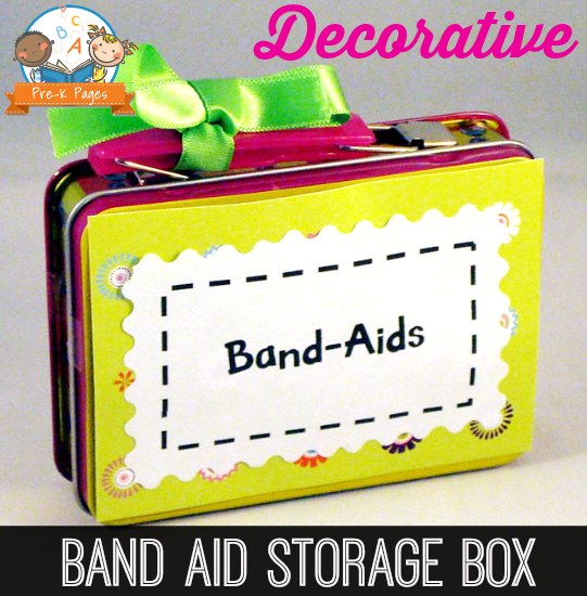 DIY Band Aid Storage Box