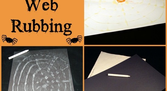 Fine Motor Spider Web Activity