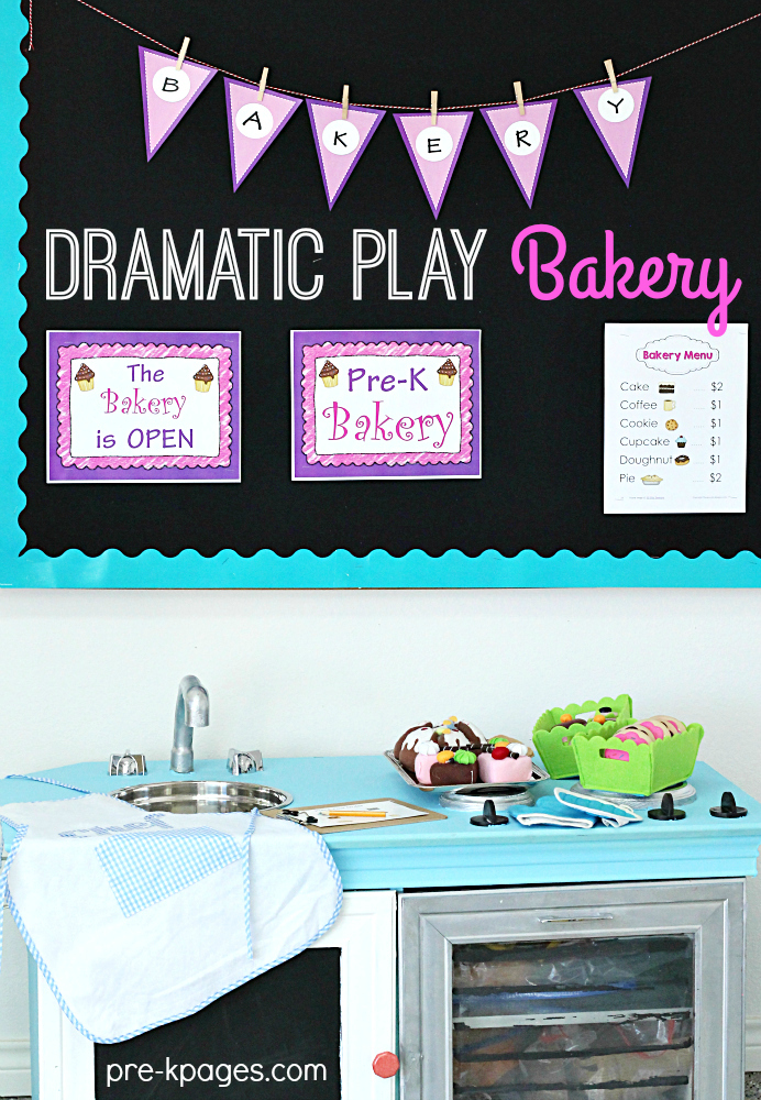 Dramatic Play Bakery Theme