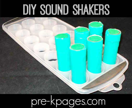 DIY Science Sound Shakers