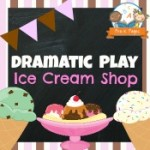 Dramatic Play Ice Cream Shop Printables