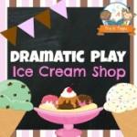 Dramatic Play Ice Cream Shop Printables