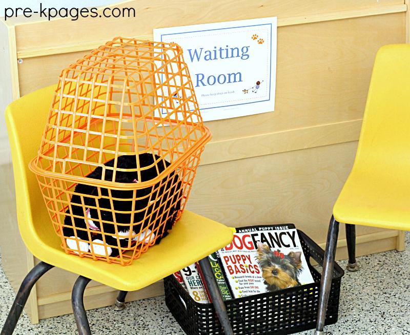 Vet Clinic Waiting Room