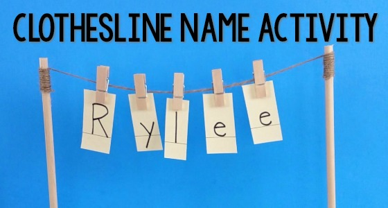 clothesline name activity cover