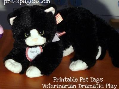 Free Printable Pet Tags
