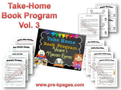 Take Home Book Program Vol 3: Nursery Rhymes