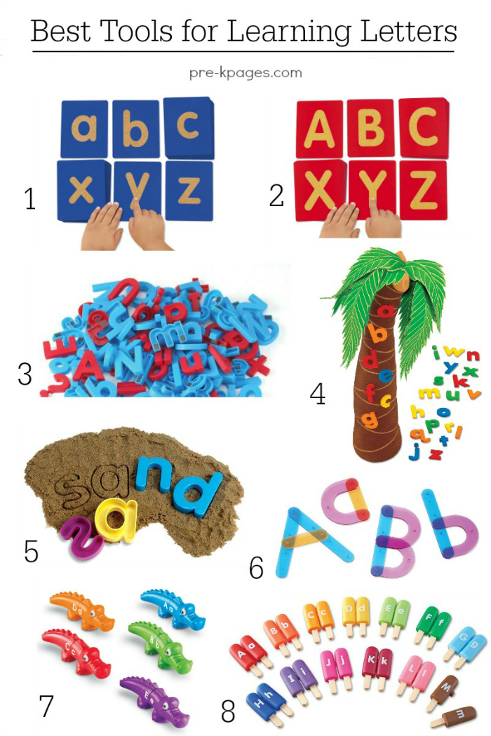 Alphabet Activities For Pre K And Preschool
