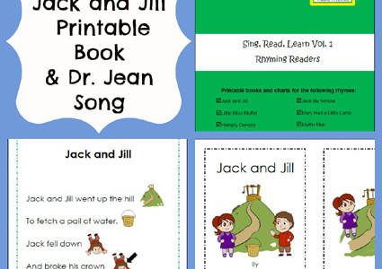 Free Jack and Jill Printable Book, Chart, and Song