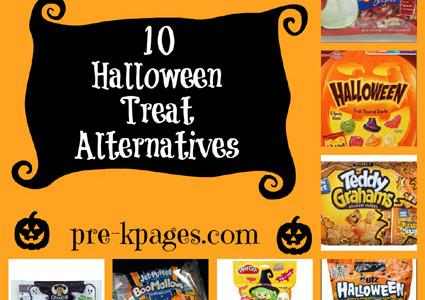 10 Halloween Treat Alternatives