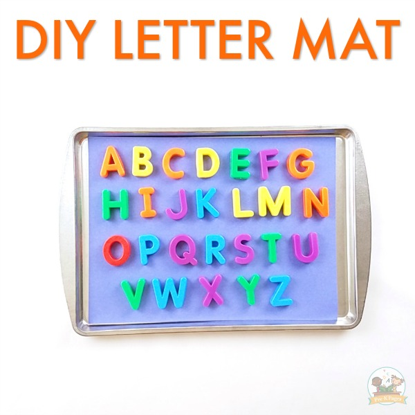 Letter Matching Activity for Preschool