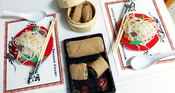 Dramatic Play Chinese Restaurant Theme