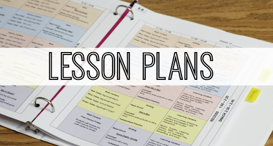 and more to make lesson planning easier!