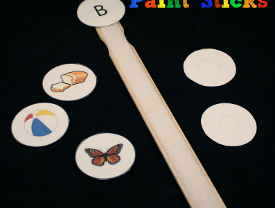 Beginning Sound Paint Sticks
