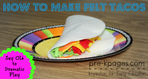 How to Make Felt Tacos