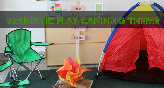 Dramatic Play Camping Theme