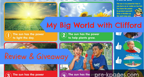 Using Scholastic's My Big World with Clifford in Preschool