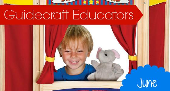 Guidecraft Wooden Puppet Theater