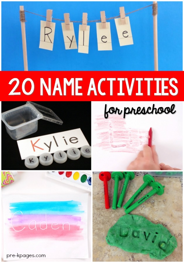 How to Teach Preschool Kids to Recognize the Letters in Their Names