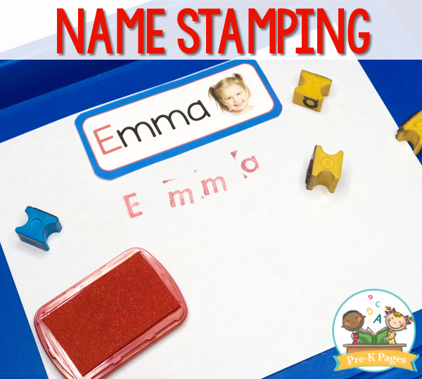 Stamp Name Activity