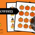 Free Halloween Visual Discrimination Printable Activity