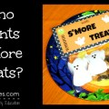 Free Printable Halloween S'Mores Treat Topper