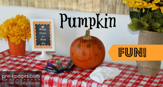 Halloween Fun with Pumpkins and Markers