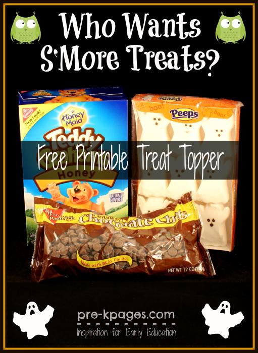 Halloween S'mores recipe