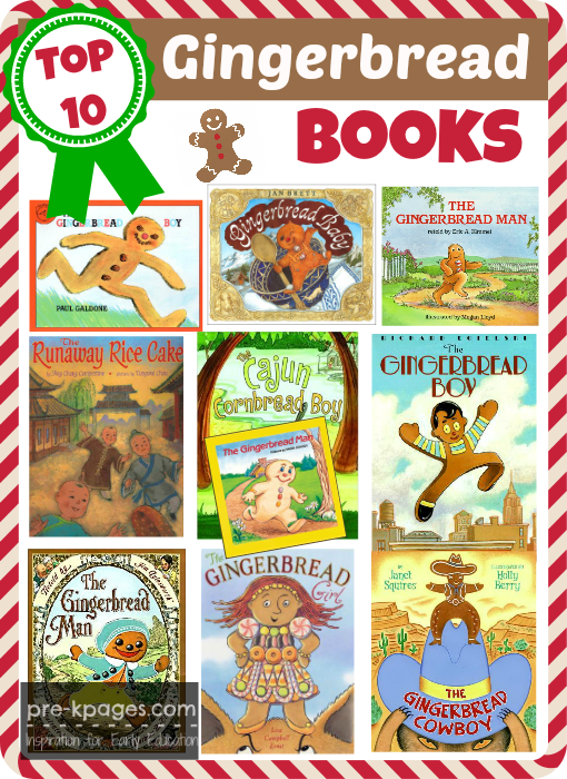 Top 10 Best Gingerbread Books for Preschool and Kindergarten
