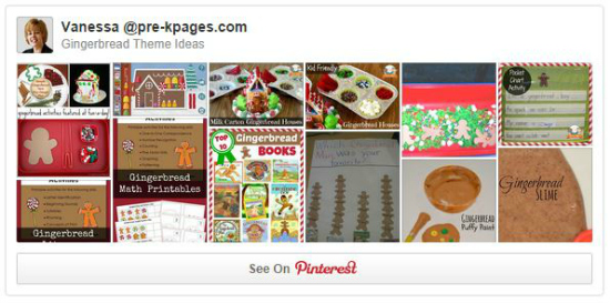 Gingerbread Activities on Pinterest