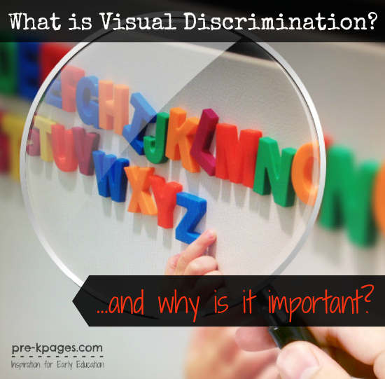 What is Visual Discrimination & Why is it  Important? #preschool #kindergarten