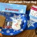Free Printable Snowman Treat Bag Topper