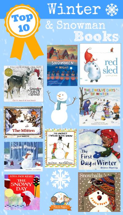 Best Winter Books for Preschool and Kindergarten