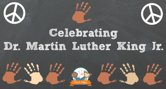 Celebrating Dr. Martin Luther King Jr. Day in Preschool and Kindergarten