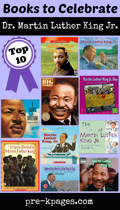 Dr Martin Luther King Jr Picture Books For Preschool And Kindergarten