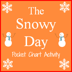 This is a photo of Selective The Snowy Day Printable