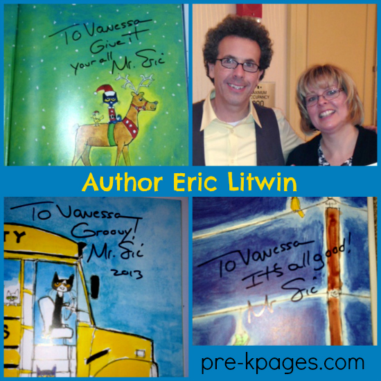 Pete the Cat Author Eric Litwin