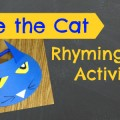 Fun Rhyming Activity for #preschool and #kindergarten
