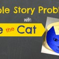 Simple Story Problem Activity for #preschool or #kindergarten with Pete the Cat