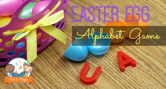 Easter Egg Alphabet Game