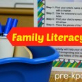 Family Literacy Night Printable Kit