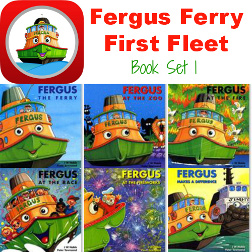 Fergus Ferry First Fleet set of 6 books for #preschool or #kindergarten