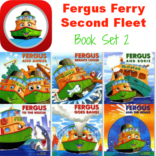 Fergus Ferry Second Fleet set of 6 books for #preschool #kindergarten