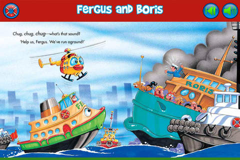 Fergus Ferry: A fun and educational app for #preschool and #kindergarten