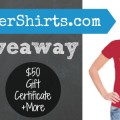 Win one of four great prizes from teachershirts.com