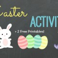 Fun Easter Activities for #preschool and #kindergarten