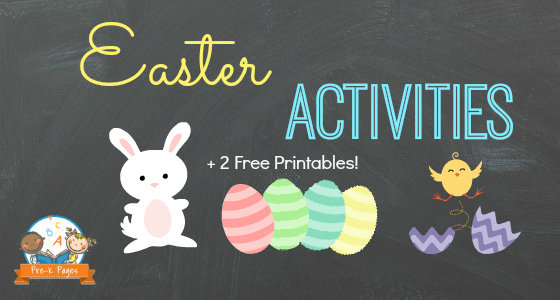 Easter Activities for Preschool