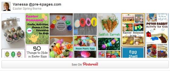Easter Pinterest Board