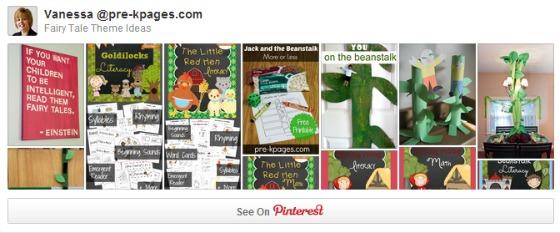 Fairy Tale Pinterest Board