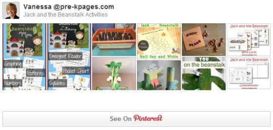 Jack and the Beanstalk Pinterest Board